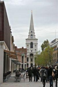 Brushfield Street in Spitalfields