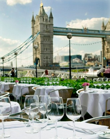 London home swap next to Tower Bridge