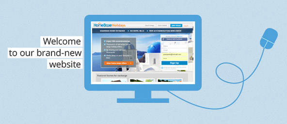 Welcome to the new Home Base Holidays website